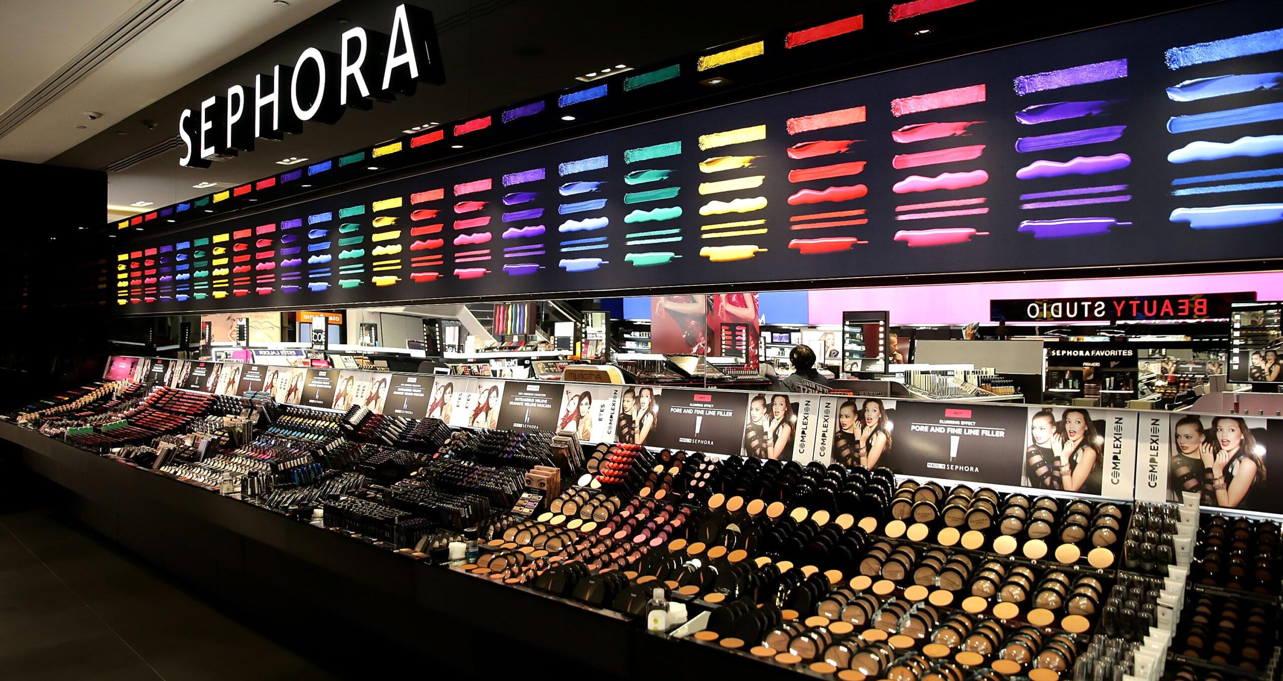 Sephora магазин